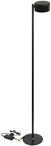 LED-Salonlampe, 50 W, 5.000 Lumen, 3000 K, dimmbar, 360° drehbar