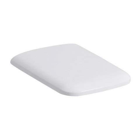 Geberit iCon Square WC-Sitz, weiß, mit Absenkautomatik, 500837011-500.837.01.1