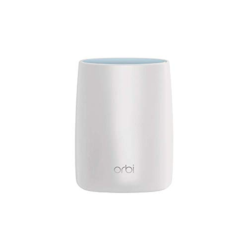 NETGEAR Orbi Ultra-Performance Whole Home Mesh WiFi Satellite Extender - works with your Orbi Router to add 2,500 sq. feet at speeds up to 3 Gbps, AC3000 (RBS50)