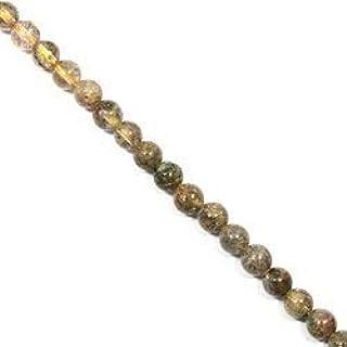Incluye cuentas de cristal de cuarzo – 8 mm redondas.