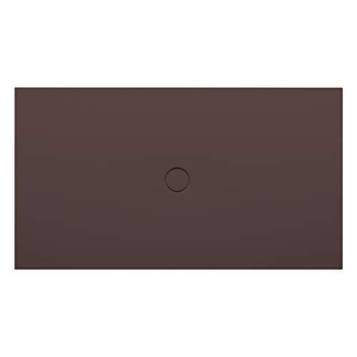 Bette Vloer douchebak met GlazePlus 5491, 100x80cm, Kleur: Leisteen - 5491-402PLUS