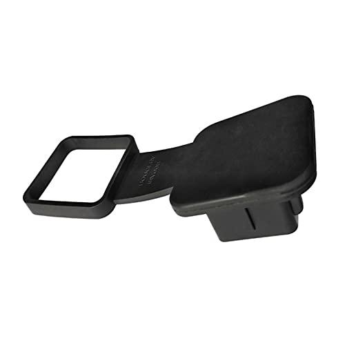 ffniwo KKKKKK Enchufe Tapa 2 Pulgadas Receptores Negro Reemplazo Universal Tool Polvo a Prueba de Polvo Controlador de automóvil Cubierta de engaño Insertar Caucho Protector (Size : A)