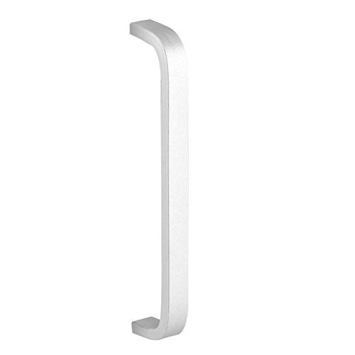 Fdit 4 Stück Pull Griff Aluminiumlegierung für Home Furniture Schubladenschrank Schrank Kleiderschrank Kommode Hardware mit Schrauben(128mm)