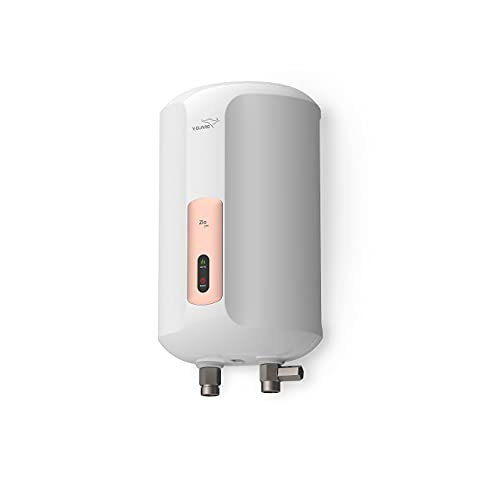 V-Guard Zio Pro 3 Litre 3 kW Instant Water Heater with Advanced Multi-layered Safety Features (White-Metallic Rose Gold)