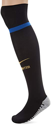 Nike Inter Home, Calze Unisex Adulto, Nero/Game Royal/Truly Gold, L