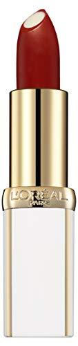 L'Oréal Paris Age Perfect Lippenstift in Nr. 299 pearl brick, intensive Pflege und Glanz, in kräftigem rot, 4,8 g