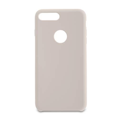 Capa Pong Apple Iphone 7 Plus Liquid Silicon, Customic, Capa Anti-Impacto, Branco