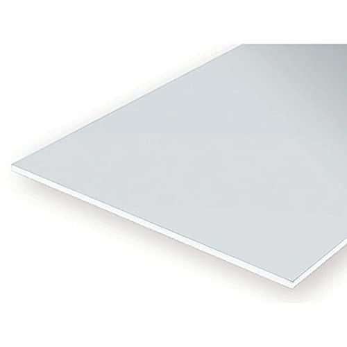 Evergreen 9040 - Placa de poliestireno (150 x 300 x 100 mm, 2 Unidades), Color Blanco