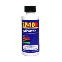 2P10 Instant Wood Adhesive, Two Part, Activator, 2 oz. bottle