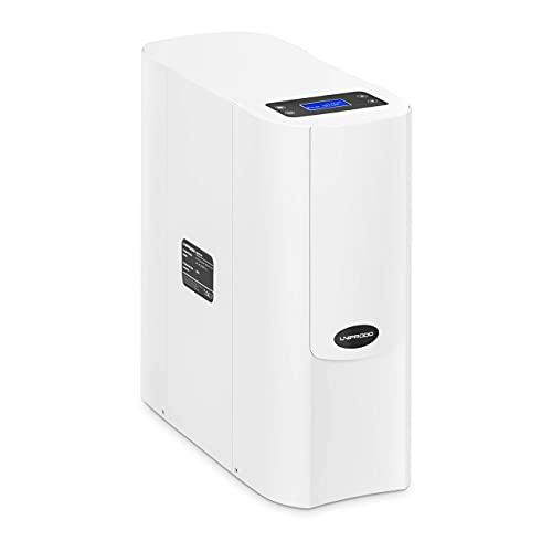 Uniprodo Sistema Descalcificador de Agua Purificador UNI_WS_5000PLUS 2-en-1 (Para 2-4 personas, Caudal máx.:  1 m³/h, Presión de funcionamiento: 0,10-0,45 MPa)