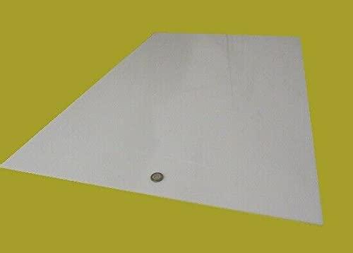 HDPE Polyethylene Sheet White.125