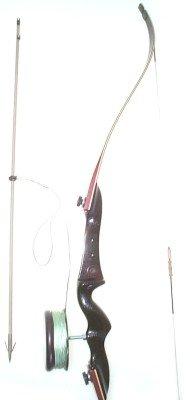 PSE RH Beginner Bowfishing Packagae w Kingfisher Recurve Takedown Bow, 50 pounds