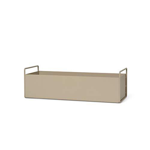 Ferm Living Blumenkasten, Metall, Cashmere, 13,9x45x16,5