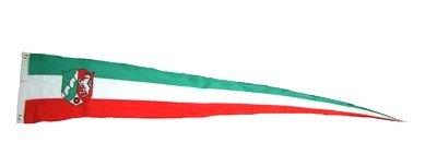 Langwimpel Nordrhein Westfalen Fahne Flagge Wimpel NEU