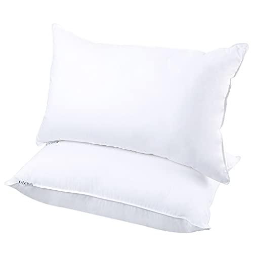2 unids abajo alternativa cama almohadas almohadas cojín almohada núcleo (Type : Def)