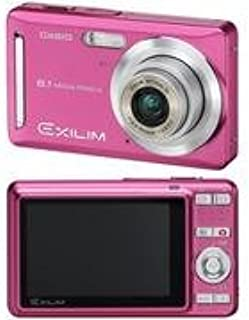 Casio EX-Z9PK Pink 8.1MP Camera with 3x Optical Zoom and 2.6 Wide-Format LCD