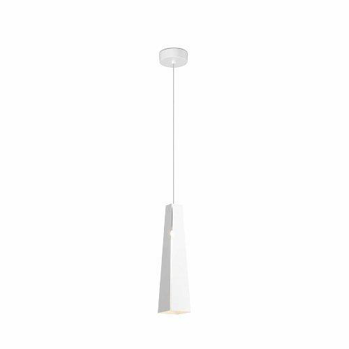 FARO BARCELONA 64170 - Pluma Colgante (Bombilla incluida) LED, 6W, Aluminio, Color Blanco