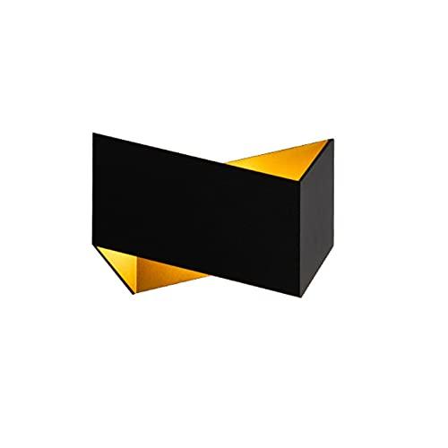 A-ZHP Lámpara de Pared, Protección de Ojos LED Fuente de luz Simple Moderno TV Sofá Fondo de Pared Sala de Estar Dormitorio Lámpara de Pared de Noche en Ambos Lados (Color : A)