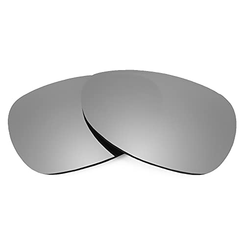 Revant Lentes de Repuesto Compatibles con Gafas de Sol Oakley Felon, Polarizados, Elite Titanio MirrorShield