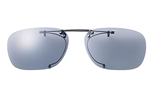 SWANS(スワンズ) 偏光 サングラス メガネにつける クリップオン 跳ね上げタイプ SCP-4 LSMK2 偏光ライトスモーク2