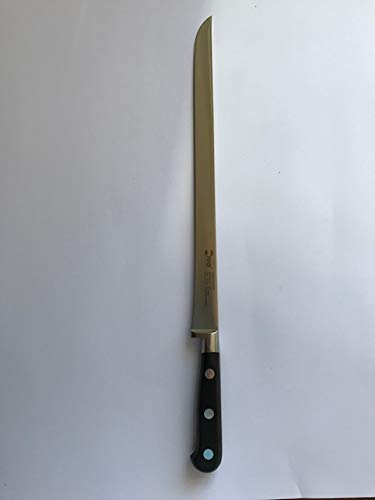 IVO Cuchillo jamonero forjado hoja de punta 30 cm de acero X50 CR Mo V15