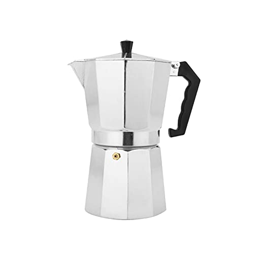 Queiting Espressokocher Espressobereiter Espressokanne Mokkakanne Auch Kaffeetasse Für Elektro Keramik Und Gasherde Geeignet 14 X 7.5 X 15.5cm