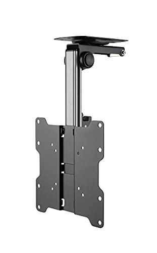 HALTERUNGSPROFI Premium TV Deckenhalterung, bis zu 105° neigbar für Dachschrägen, Höhe verstellbar, max. Traglast 20kg, max. VESA 200x200, bis 37 Zoll CL322