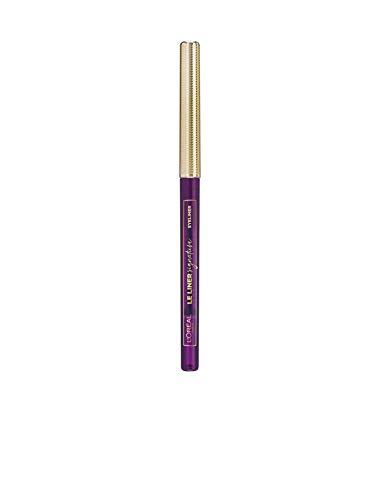 L'Oréal Paris Le Liner Signature 06 Violet Wool, präziser & langanhaltender Eyeliner, Stiftform mit herausdrehbarer Mine, wisch- und wasserfest