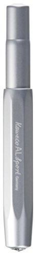 Kaweco Füllfederhalter Al Sport I Premium Füllfederhalter Luxus für Tintenpatronen mit hochwertiger Stahlfeder I Kaweco Sport Füller 13,5 cm Silber Federbreite: EF (Extra Fein)