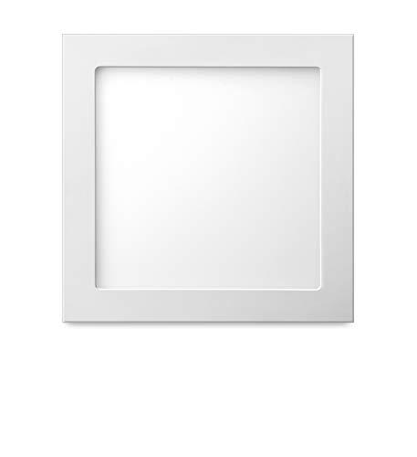 Luminária Inteligente Elgin Wi-Fi, Quadrada de Embutir, 18W, 3000-6500K, compatível com Alexa