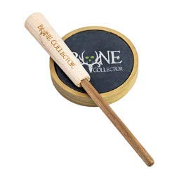 Bone Collector Poplar Girl Turkey Call - Friction Call - Compact Wood Pot, Slate, Hickory Striker