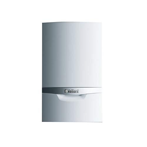 Caldera de gas de condensación mixta modelo Ecotec Plus VMW 246/5-5, calefacción de 20kW y 24kW en ACS, con kit de evacuación y plantilla, GLP, 33,8 x 44 x 72 centímetros (referencia: 0010021813)