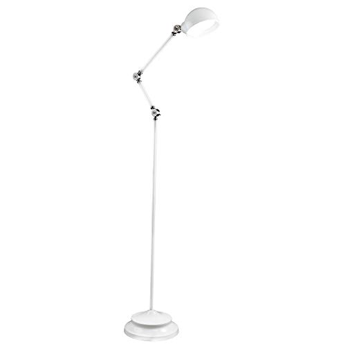 OttLite Revive LED Floor Lamp | Touch-Sensitive Control, 3 Brightness Mode, Adjustable, Reduces Eyestrain | Great for Office, Home, Dorm, Bedroom, College, Living Room