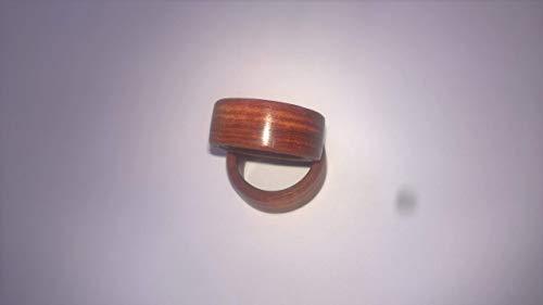 Holzring, Holzige Hochzeit(5 Jähriges) Freundschaftsring aus Rosenholz, Holzring, Fingerring