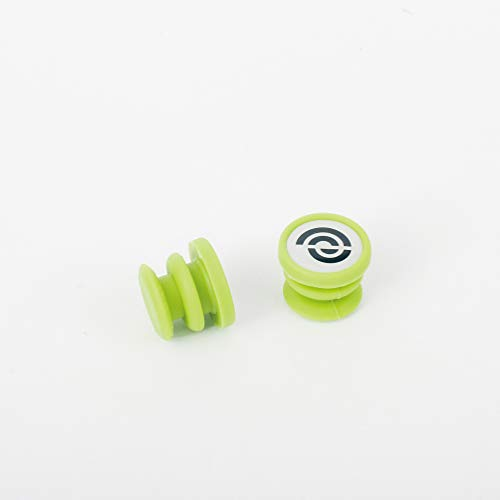 BIKERIBBON(バイクリボン) 【正規品】 ジェリー エンドキャップ グリーン EJP007 EJP007 グリーン