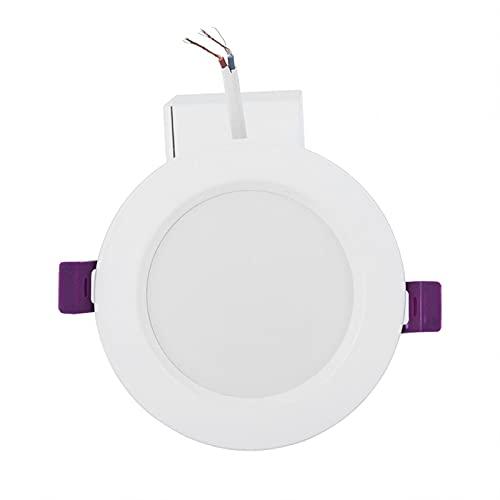 Lámpara, Luz empotrada LED RGB + W Resistente al calor Techo Ajuste múltiple Más de 16 millones de colores Temporizador Sin parpadeo Deslumbramiento Brillo Iluminación agradable a la vista Bombilla de