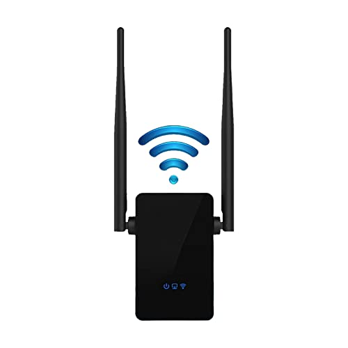 Repetidor Extensor de Red WiFi 300Mbps Repetidor WiFi de 5GHz y 2.4GHz Modo de Punto de Acceso Incorporado Extensor WiFi Inalámbrico Repetidor de Señal de Red