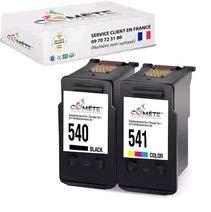 COMETE PG540 + CL541 - Juego de 2 cartuchos de tinta compatibles con Canon 540 541 para impresora PIXMA G2150 MG2250 MG3150 MG3250 MG3550 (negro + color)