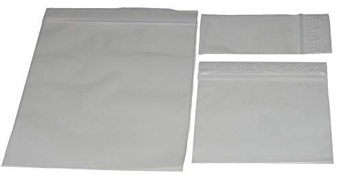 Fa.ars 100 Druckverschlussbeutel 80 x 250 mm Schnellverschlussbeutel Tüten Tütchen Beutel