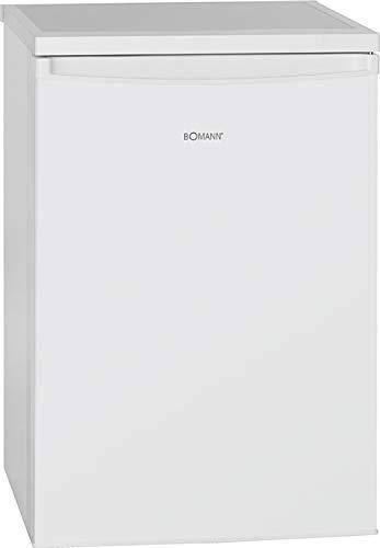 Bomann KS 2184 Kühlschrank / E / 84.5 cm / 137 kWh/Jahr / 107 L Kühlteil / 13 L Gefrierteil / justierbare Standfüße / weiß