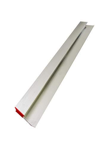 h-profil Alu-Kartätsche - geschlossen 150 cm