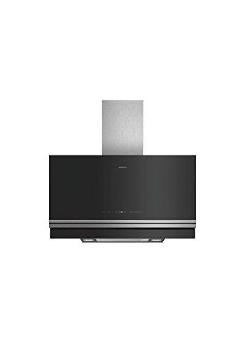 Siemens iQ700lc97fvw60Wall-Mounted Cooker Hood 730m³/h A schwarz, Edelstahl–Dunstabzugshaube (730m³/h, Abluft/Umluft, A, A, B, 57dB)