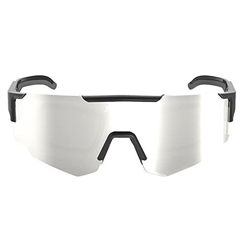 AESHW Gafas de Ciclismo Deportivas al Aire Libre, Marcos irrompibles, Gafas de Sol polarizadas de Moda de Parabrisas Style 6