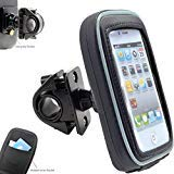 AccessoryBasics Swivel Smartphone Bike Motorcycle Handlebar Mount w/Detachable Water Resistant 3D Touch Enable...