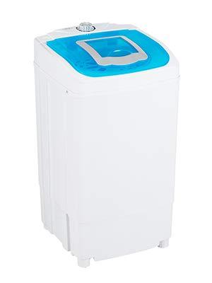 Uenjoy MINI Tragbare Wäscheschleuder Spin Dryer 220V / 50HZ 39,5 * 39 * 71,5CM(Blau)