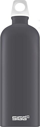 SIGG Lucid Shade Touch Botella cantimplora (1 L), botella con tapa hermética sin sustancias nocivas, botella de aluminio ligera y robusta