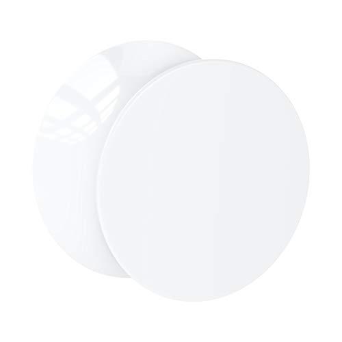 Crazy Factory Double Flared Plug aus Acryl   16mm • Weiß • Piercing • Ohr • Bester Preis • Basic • Top Qualität