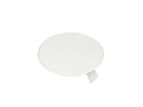 REV ISO-DOSENDECKEL 80mm ǀ 25 Stück Abdeckung für Unterputz-Steckdose ǀ Federdeckel für Abzweigdose ǀ Farbe: weiß