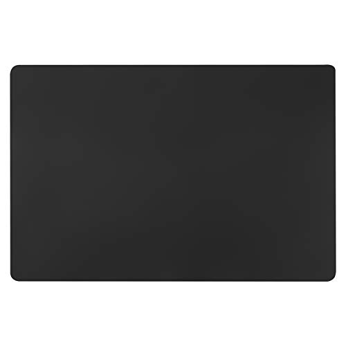 Black Extra Large Silicone Mat, Gartful 23.6 x 15.7 inches Silicone Craft Sheet, Resin Casting Molds Mat, Countertop Protector, Placemat Table Saver Pad, Reusable Nonstick Nonskid Heat-Resistant