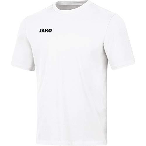 JAKO Kinder T-shirt Base, weiß, 164, 6165